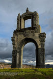 Arco indigeno, La Paz fotografie stock