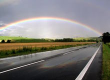 Arco iris Foto de archivo