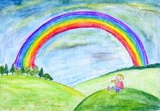 Arco iris Imágenes de archivo libres de regalías