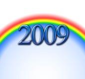 Arco iris 2009 Fotos de archivo libres de regalías