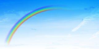 Arco iris abstracto fotos de archivo libres de regalías