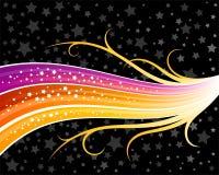 Arco iris abstracto Imagen de archivo libre de regalías