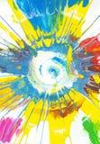 Arco iris Art Background abstracto Imágenes de archivo libres de regalías
