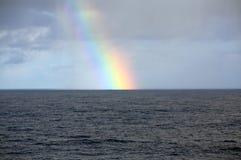 Arco iris atlántico Foto de archivo libre de regalías