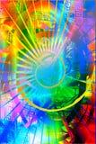 Arco iris Background2 ilustración del vector