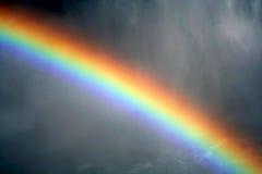 Arco iris brumoso Foto de archivo libre de regalías