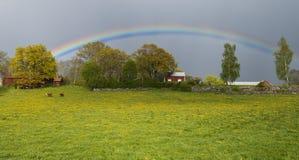 Arco iris colorido Foto de archivo