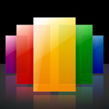 Arco iris colorido infographic abstracto brillante libre illustration