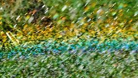 Arco iris con gotas del agua Imagen de archivo libre de regalías