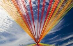 Arco iris de Absract imagen de archivo