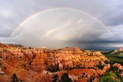 Arco iris de Bryce Canyon Imagen de archivo libre de regalías