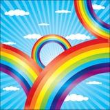 Arco iris de Coloful ilustración del vector