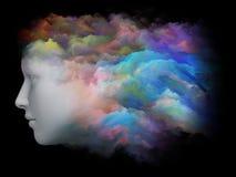 Arco iris de la mente Foto de archivo libre de regalías