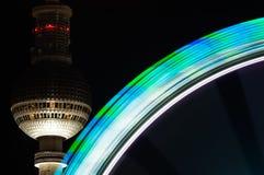 Arco iris de la Navidad Fotografía de archivo libre de regalías