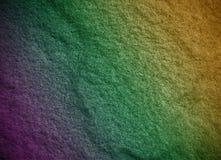 Arco iris de la pared del fondo Fotos de archivo