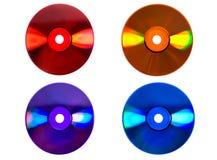 Arco iris de la tecnología de Digitaces Foto de archivo libre de regalías