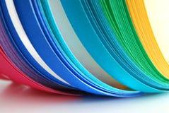 Arco iris de las tiras de color Imagen de archivo libre de regalías