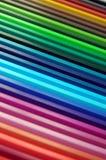Arco iris del creyón Fotos de archivo libres de regalías