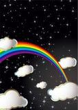 Arco iris del espacio Imagen de archivo