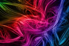 Arco iris del fractal stock de ilustración