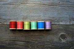 Arco iris del hilo Imagen de archivo