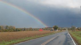 Arco iris del país Imagenes de archivo