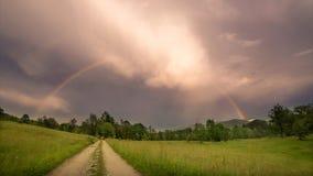 arco iris despu?s de la tormenta