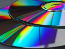 Arco iris DVD Imágenes de archivo libres de regalías