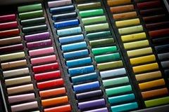 Arco iris en colores pastel Foto de archivo libre de regalías