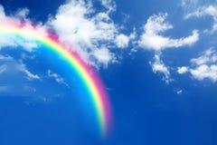 Arco iris en el cielo Imagenes de archivo