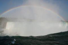 Arco iris en Niagara Fotografía de archivo libre de regalías