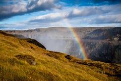 Arco iris hermoso Imagenes de archivo
