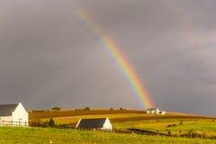 Arco iris increíble I Imagen de archivo libre de regalías