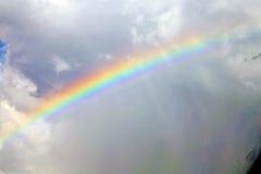 arco iris la violeta del extracto de la nube Fotografía de archivo libre de regalías