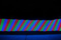 Arco iris largo de la exposición imagen de archivo libre de regalías
