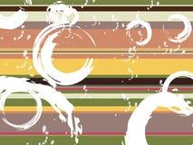 Arco iris silenciado stock de ilustración