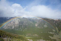 Arco iris sobre el paso de Beartooth Imagen de archivo