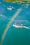 Arco iris sobre Niagara fotografía de archivo libre de regalías