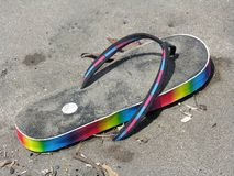 Arco iris trenzado imágenes de archivo libres de regalías
