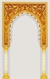 Arco islámico del arte Foto de archivo