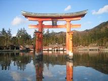 Arco japonés Foto de archivo