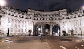 Arco Londres Inglaterra del Ministerio de marina Foto de archivo libre de regalías
