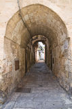 Arco Loreto. Francavilla Fontana. Puglia. Itália. Imagens de Stock Royalty Free