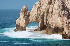 Arco Los Cabos de la playa de los amantes Foto de archivo libre de regalías