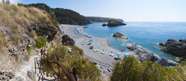 Arco Magno, SAN Nicola Arcella, Praia μια φοράδα, Καλαβρία, νότια Ιταλία, Ιταλία, Ευρώπη Στοκ Φωτογραφία