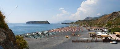 Arco Magno, San Nicola Arcella, Praia en sto, Calabria, sydliga Italien, Italien, Europa Royaltyfria Bilder
