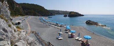 Arco Magno, San Nicola Arcella, Praia klacz, Calabria, Południowy Włochy, Włochy, Europa Zdjęcia Stock
