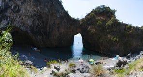 Arco Magno, San Nicola Arcella, Praia a Mare, Calabria, Southern Italy, Italy, Europe Royalty Free Stock Photo