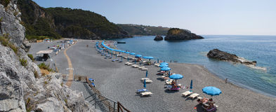 Arco Magno, San Nicola Arcella, Praia une jument, Calabre, Italie du sud, Italie, l'Europe Photos stock