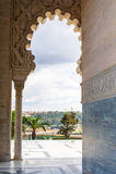 Arco mauritaniano Immagine Stock